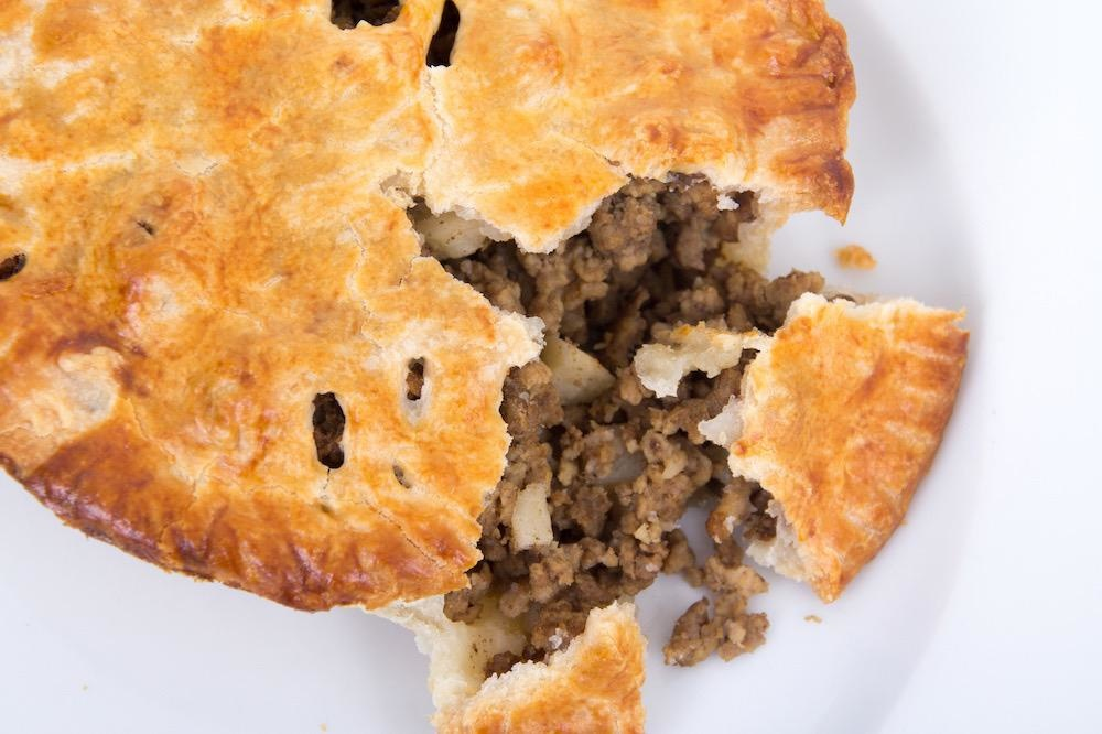 Tourtiere Pie ( Serves 8)