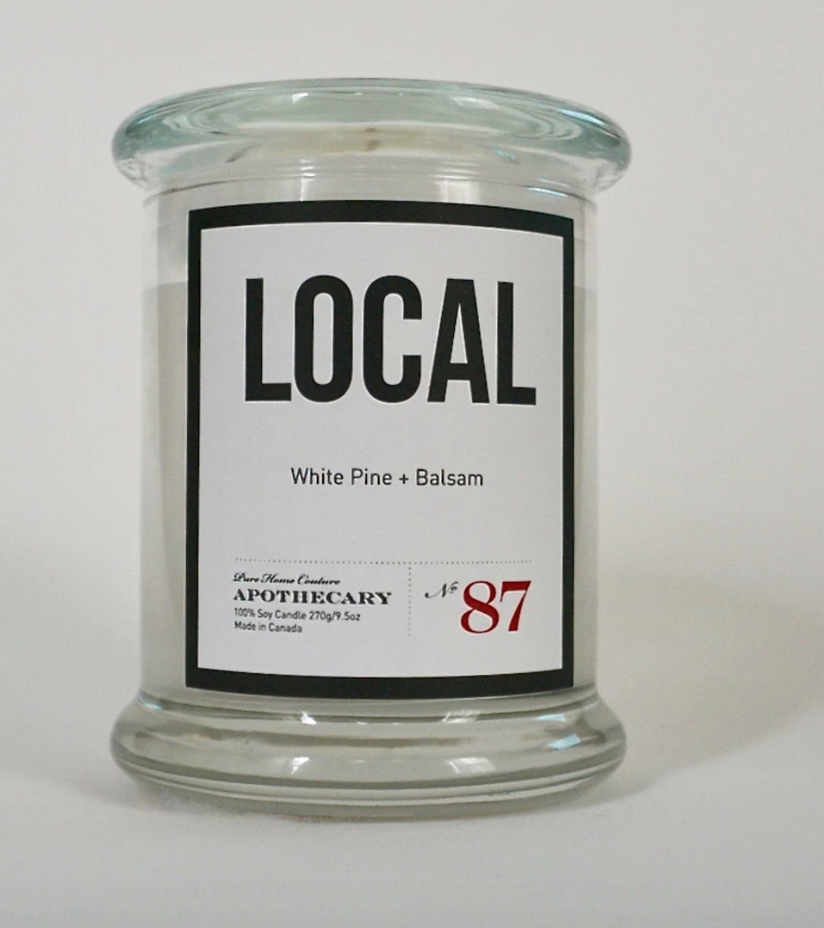 Local Candle White Pine & Balsam / 270 g/ 50 hours