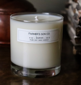 Farmer's Son Co. Soy Candle Leaves/ 226g / 45 hours