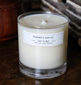 Farmer's Son Co. Soy Candle Lake Lodge /226 g/ 45 hours