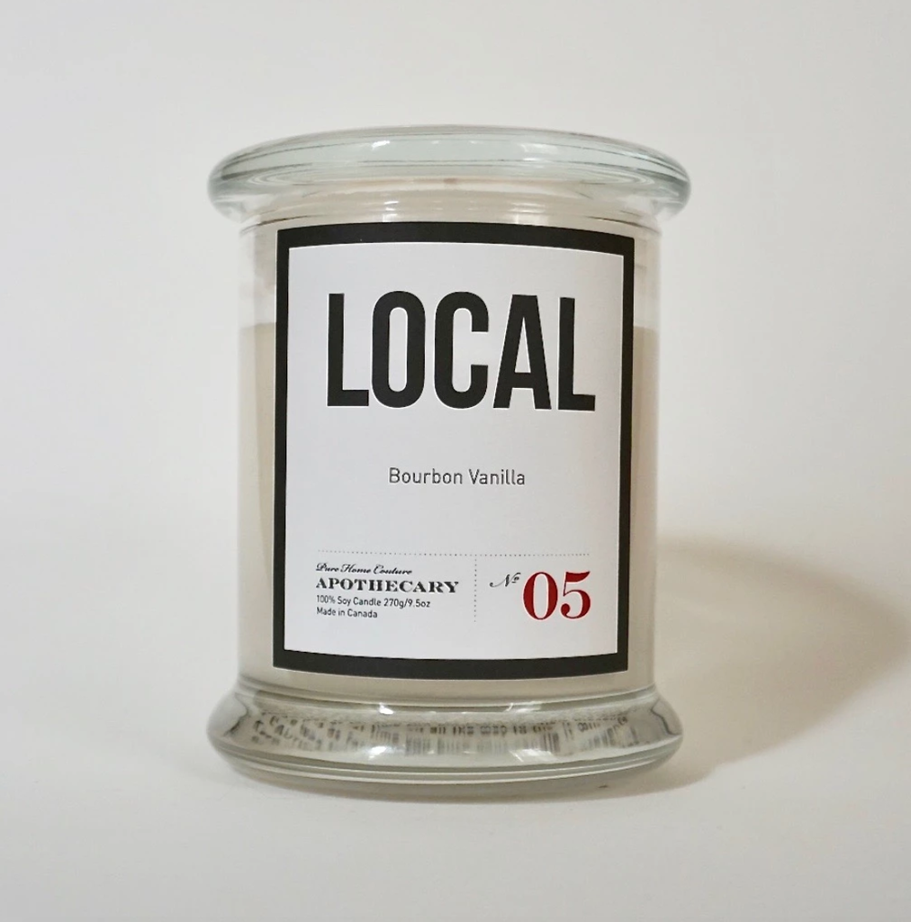 Local Candle Bourban Vanilla (270 g) 50 Hour