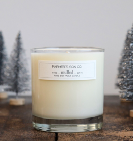 Farmer's Son Co. Soy Candle Mulled/ 226g/ 45 hours