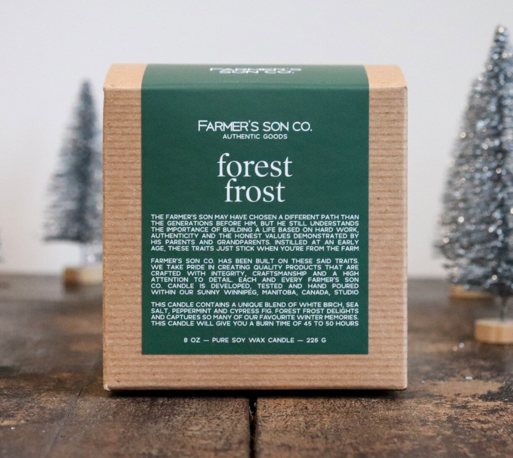 Farmer's Son Co. Soy Candle Forest Frost /226 g/ 45 hours