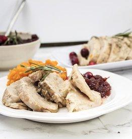 Roasted Turkey & Gravy (Serves 8)