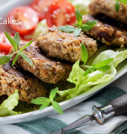Black Bean Cakes (serves2)