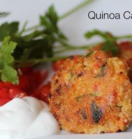 Quinoa Cakes (Serves 2)