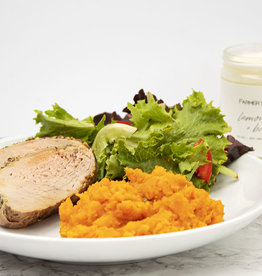 Grainy Mustard Pork Tenderloin Dinner (Serves 4)