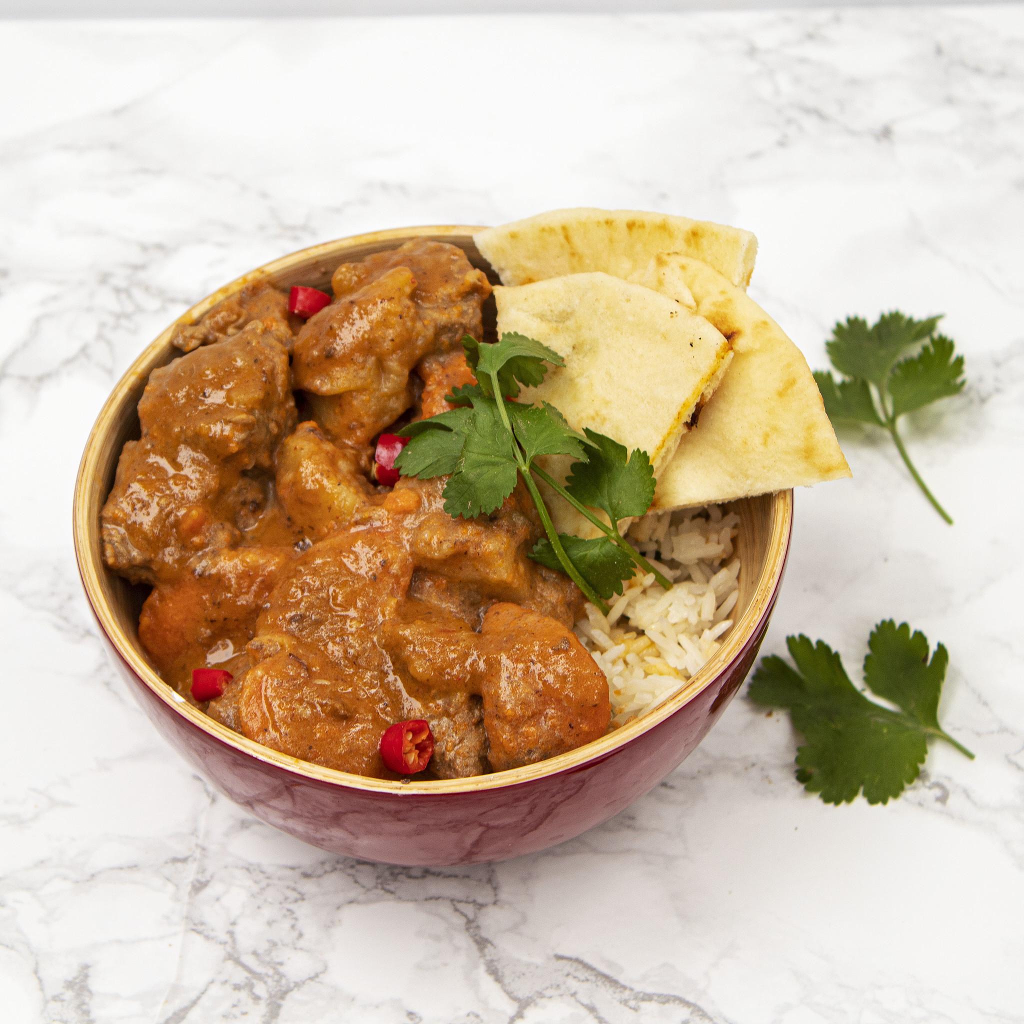 Thai Beef Curry Dinner (Serves 4)