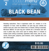 Black Bean Soup (Serves 4)