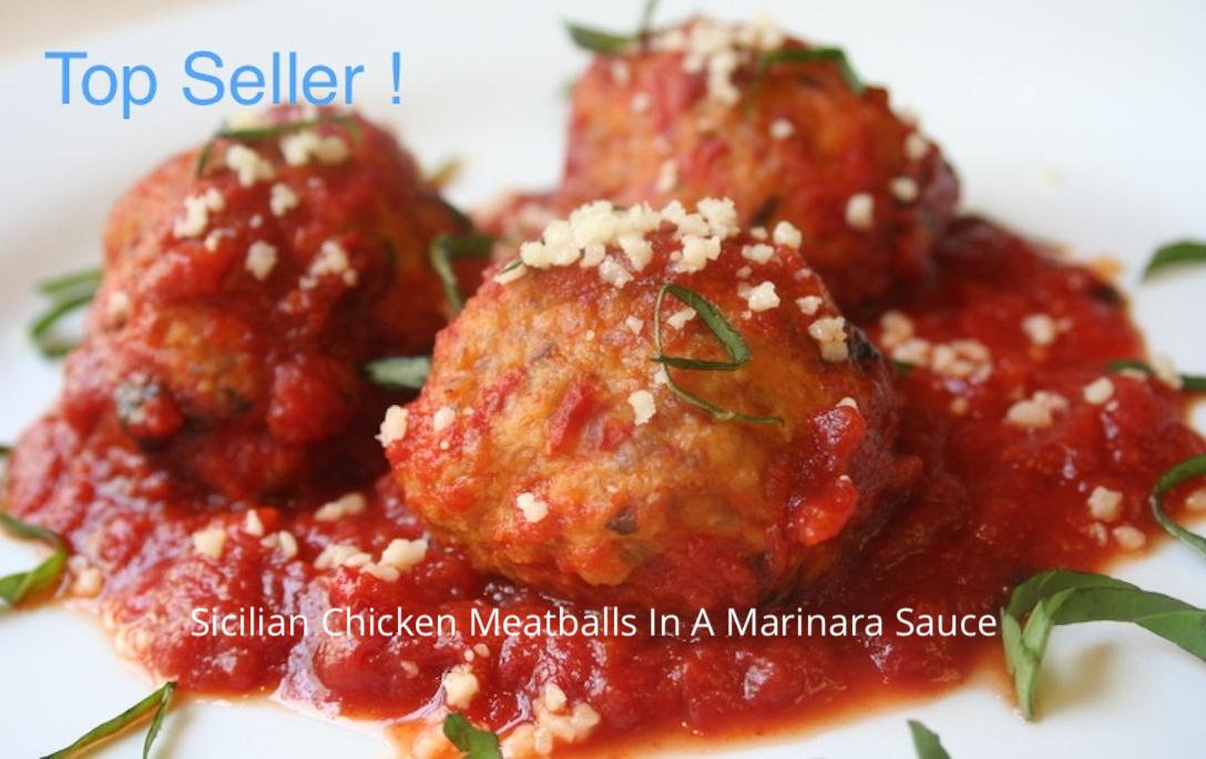 Sicilian Chicken Meatballs (4)