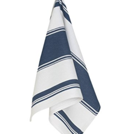 Symmetry Dishtowel Blue Striped