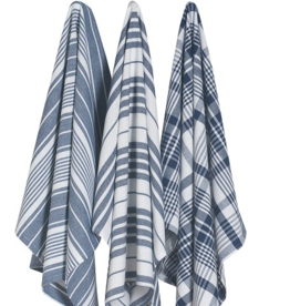 Jumbo Dishtowels Blue( Set of 3)