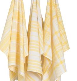 Jumbo Dishtowels Yellow (Set of 3)