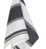 Symmetry Dishtowel Black Striped