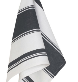 Symmetry Dishtowel Black Striped