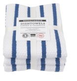 Basketweave Royal Dishtowels (set of 3)