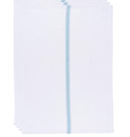 Brooklyn Stripe Towels Turquoise (set of 4)