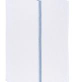 Brooklyn Stripe Towels Blue (set of 4)