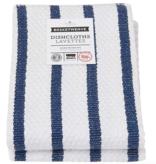 Dishcloth Basketweave Blue Stripe (Set 2)