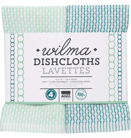 Dishcloth Wilma Green(Set 4)