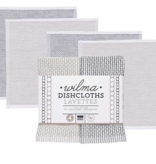 Dishcloth Wilma Slate (Set 4)