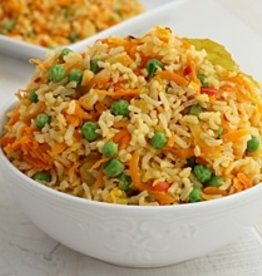 Vegetable Asian Rice Dinner( Serves 2)