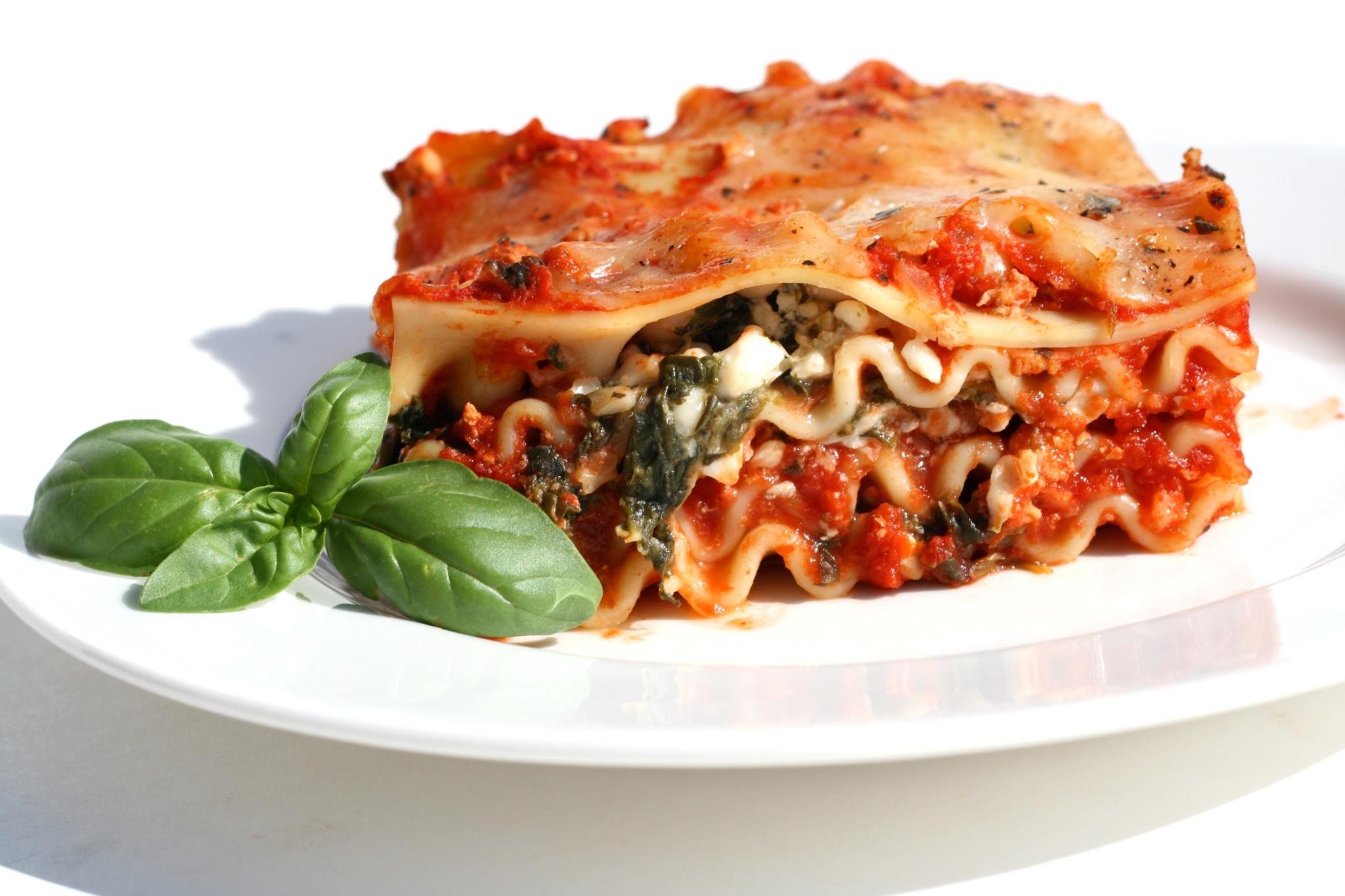 Roasted Vegetable Lasagna (Serves 4)