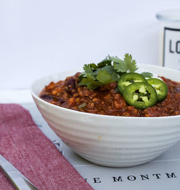 Turkey Chili Dinner (Serves 4)