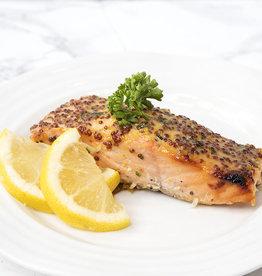 Honey Mustard Salmon Dinner (Serves 2)