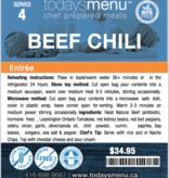 Beef Chili (Serves 8)