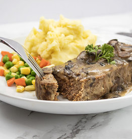 Beef Meatloaf Dinner (Serves 2)