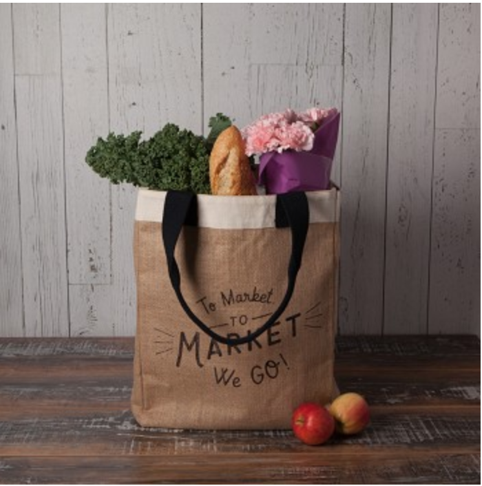 Tote Bag To Market We Go
