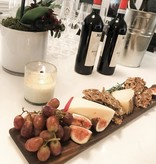 """Maple Wood Charcuterie Board 22"""" tall 4 1/4"""" wide 3/4"""" thick."""