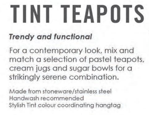 Teapot Charcoal Large