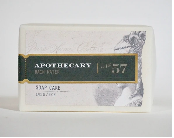 Apothecary Soap Bar Rain