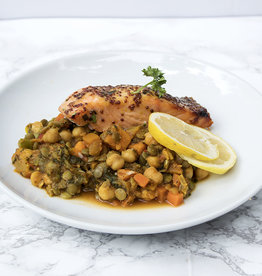 Honey Mustard Salmon Dinner (Serves 4)