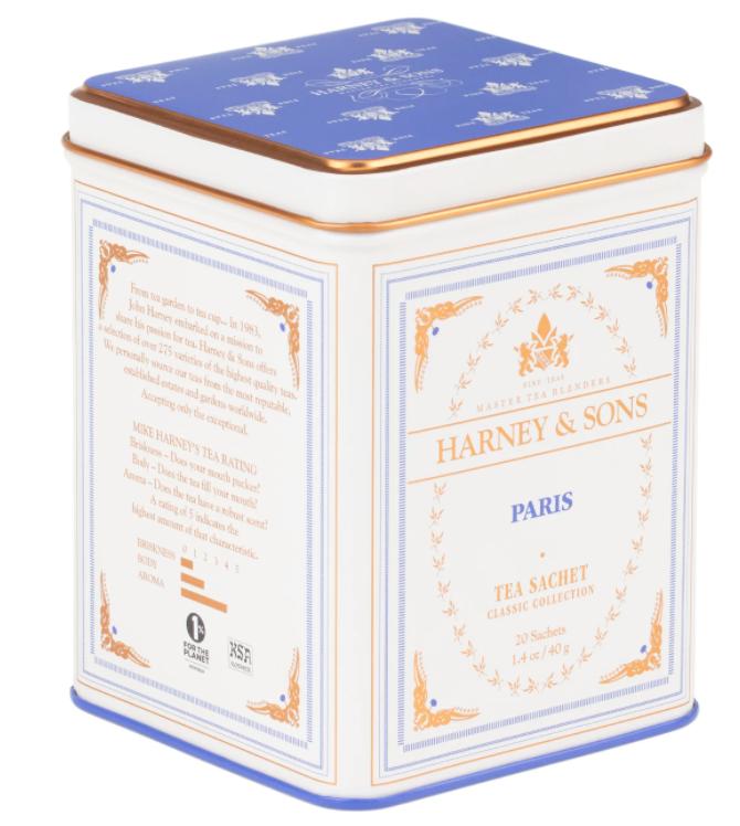 Harney  Paris Tea (20 Tea Sachets/40 grams)