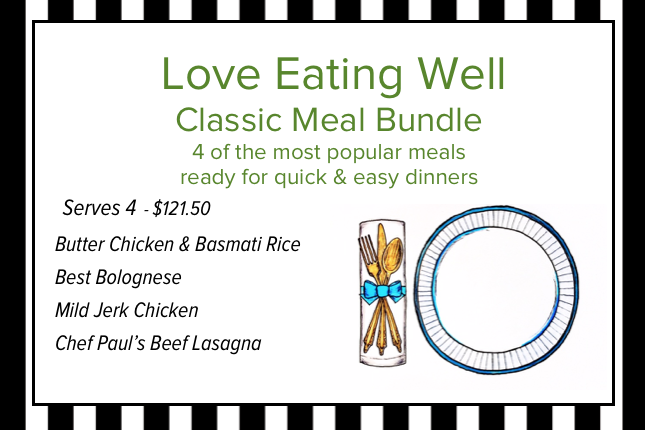 Love Eating Well Classic 4 Meal Bundle (Serves 4)