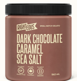 Righteous  Dark Chocolate Carmamel Sea Salt(562ml)STORE PICK UP ONLY