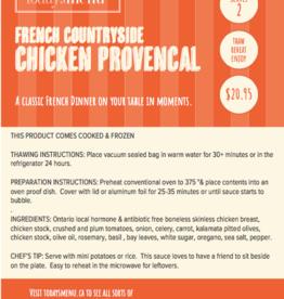Chicken Provencal Dinner (Serves2)
