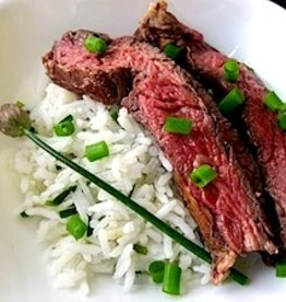 Asian Flank Steak Dinner (Serves 4)