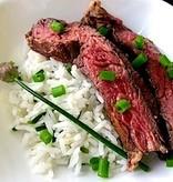 Asian Flank Steak Dinner (Serves 2)
