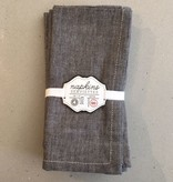 Napkins Pewter (set 4)