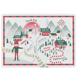 Cork - Backed North Pole Placemats (SET OF 4)