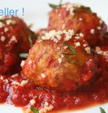 Sicilian Chicken Meatball Dinner (Serves 4)