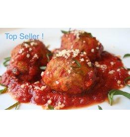 Sicilian Chicken Meatball Dinner (Serves 2)