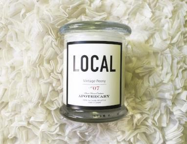 Local Candle Vintage Peony / 270 g/ 50 hours
