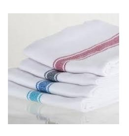 Brooklyn Stripe Towels Turquoise (set 4)