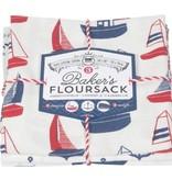 Floursack Dishtowels Whale (set 3)