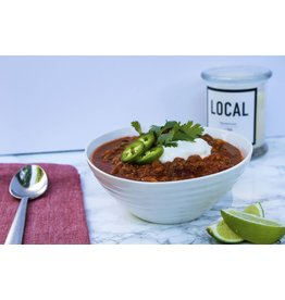 Turkey Chili Dinner (Serves2)